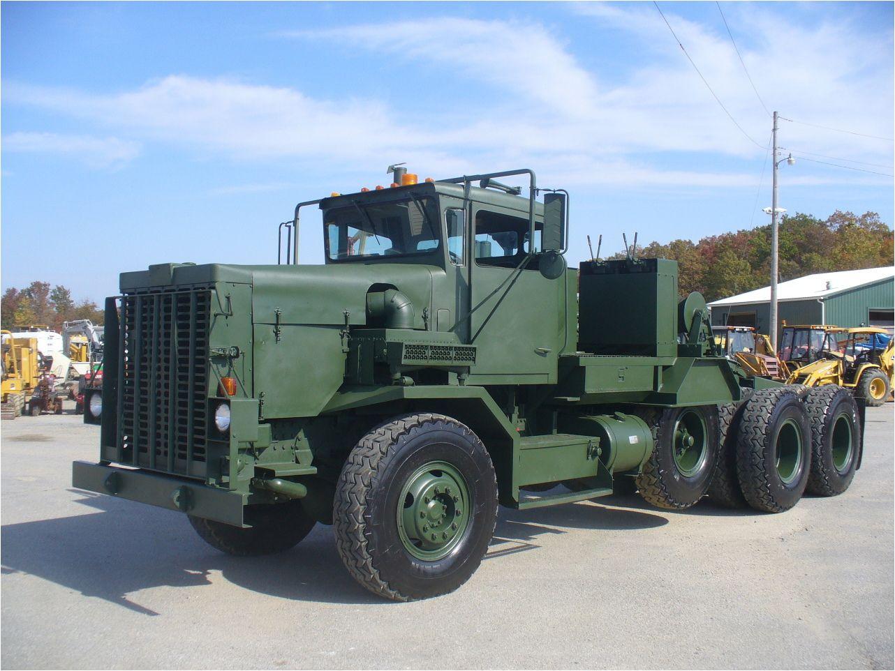 1979 OSHKOSH M911 Military Truck Brandywine Trucks