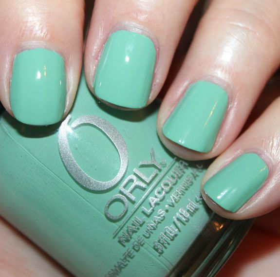 Orly - Ancient Jade | Nail Colours | Pinterest