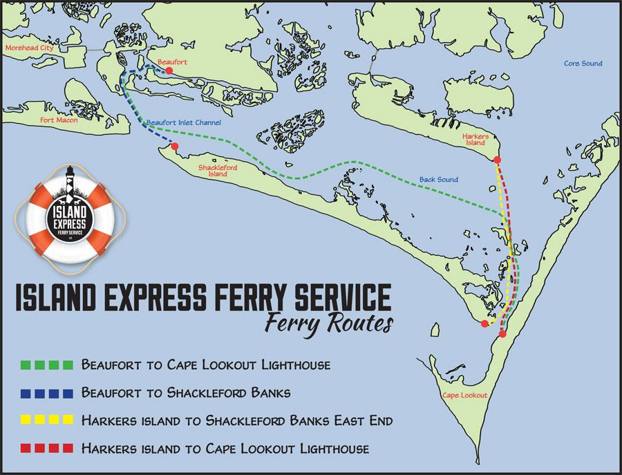 Cape Lookout - Sleford Banks Ferry Rates & Schedules ... on cape lookout lighthouse, cape lookout at night, cape lookout ferry harkers island, cape lookout beach camping,