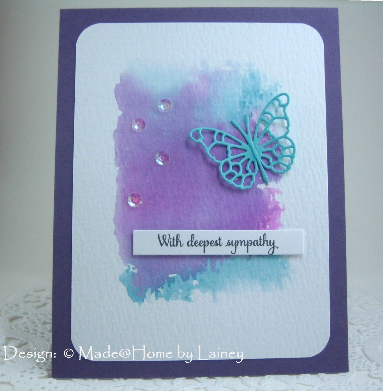 Made @ Home: With Deepest Sympathy