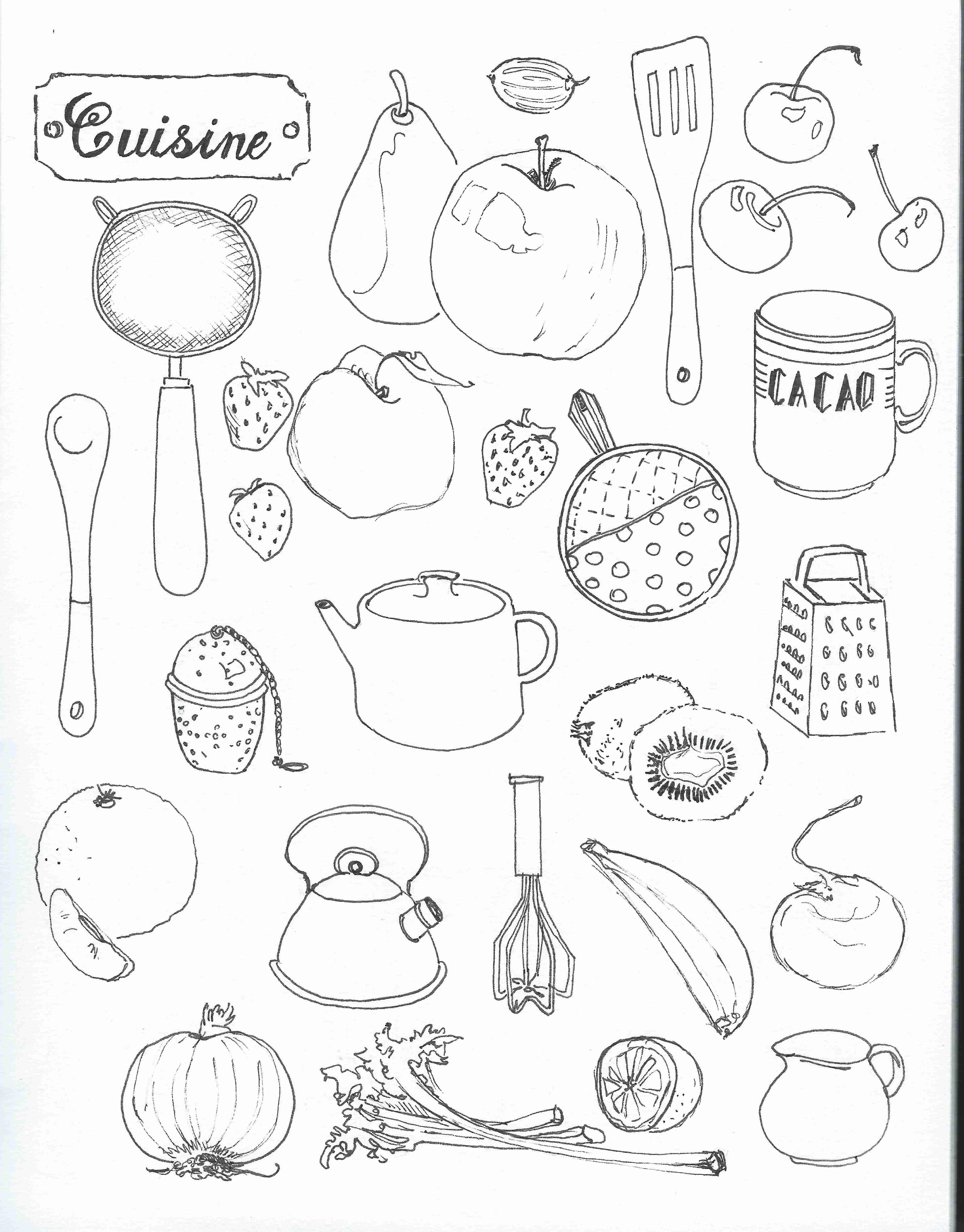 Black and white kitchen stuff | Sketchnotes | Pinterest | Kitchen stuff