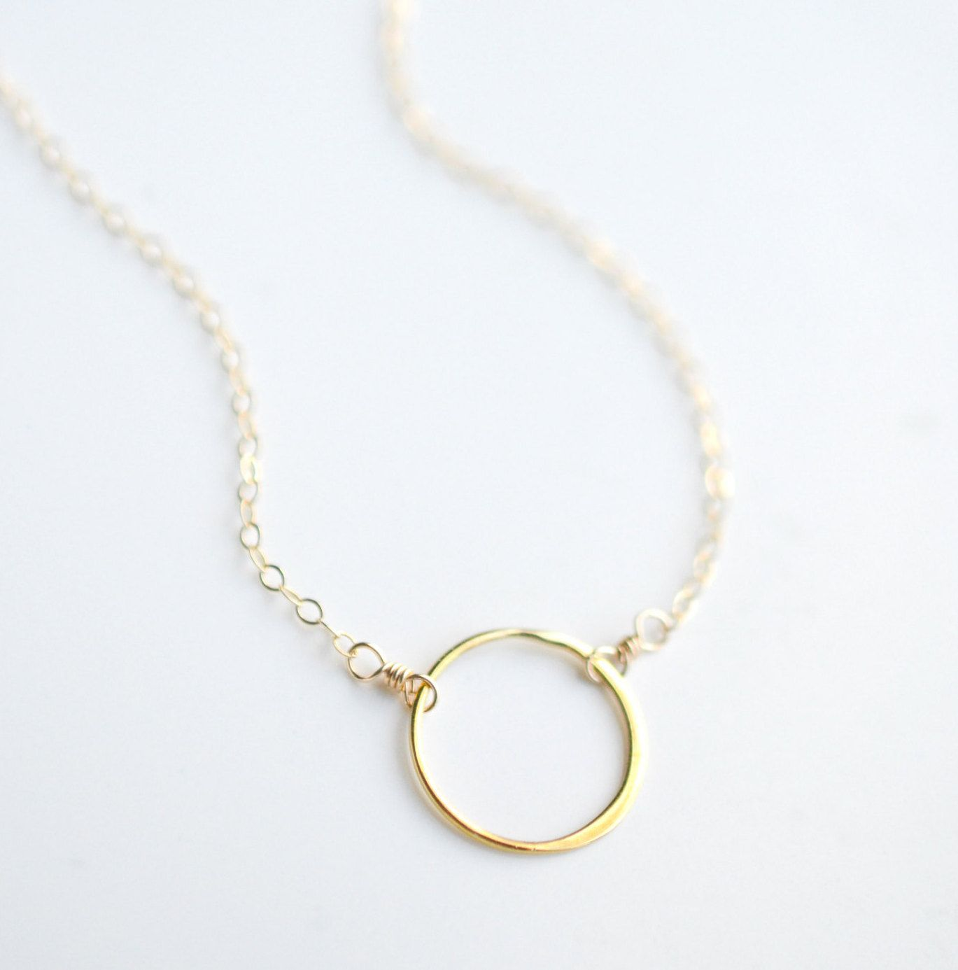 circle shop gold small dsc necklaces necklace