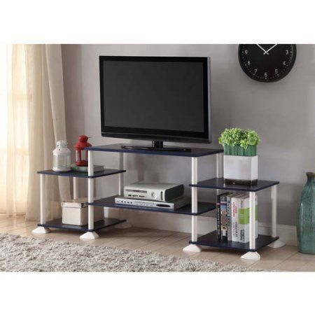 Mainstays 40 Inches Contemporary Plasmalcd Tv Stand Entertainment
