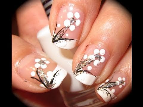 Top 10 Spring Welcoming Floral Nail Art Tutorials Flower Nails