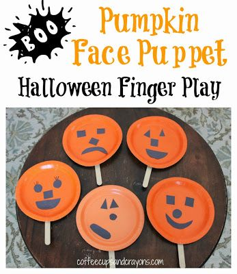 Halloween Crafts for Kids Roundup October 26th Is National Pumpkin - how to make halloween decorations for kids