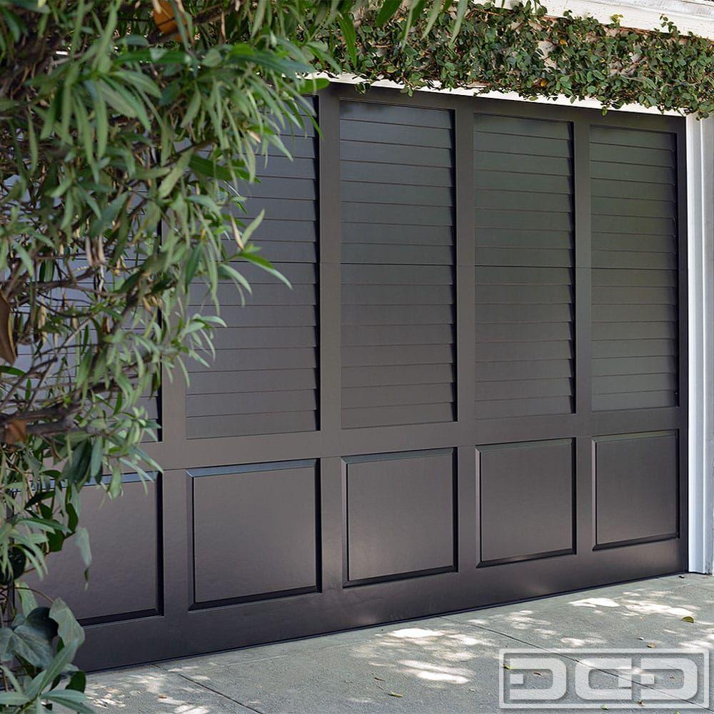 Bahama Shutter Garage Door Wouldn T Want Black I Think I Want The Garage Door In White So It Fades Away I Garage Doors Garage Door Styles Garage Door Design