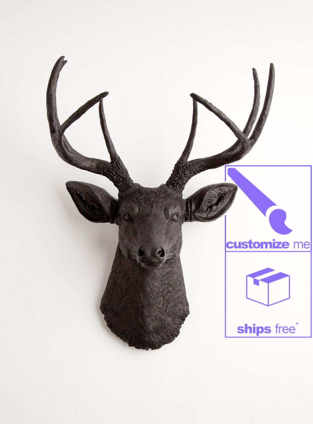 This Item Is Unavailable Etsy Faux Deer Head Faux Deer Deer Head Wall Art