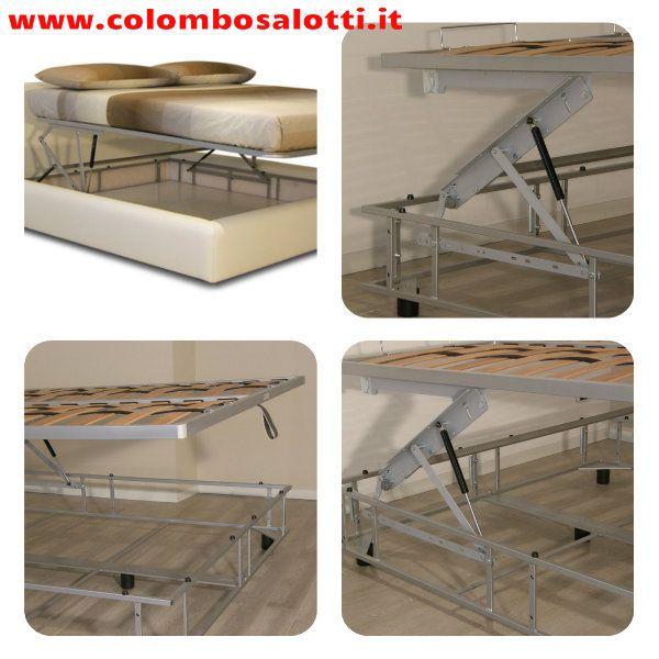 Meccanismo Letto Contenitore Ikea.Letto Contenitore Con Meccanismo Di Apertura Facilitato La Rete