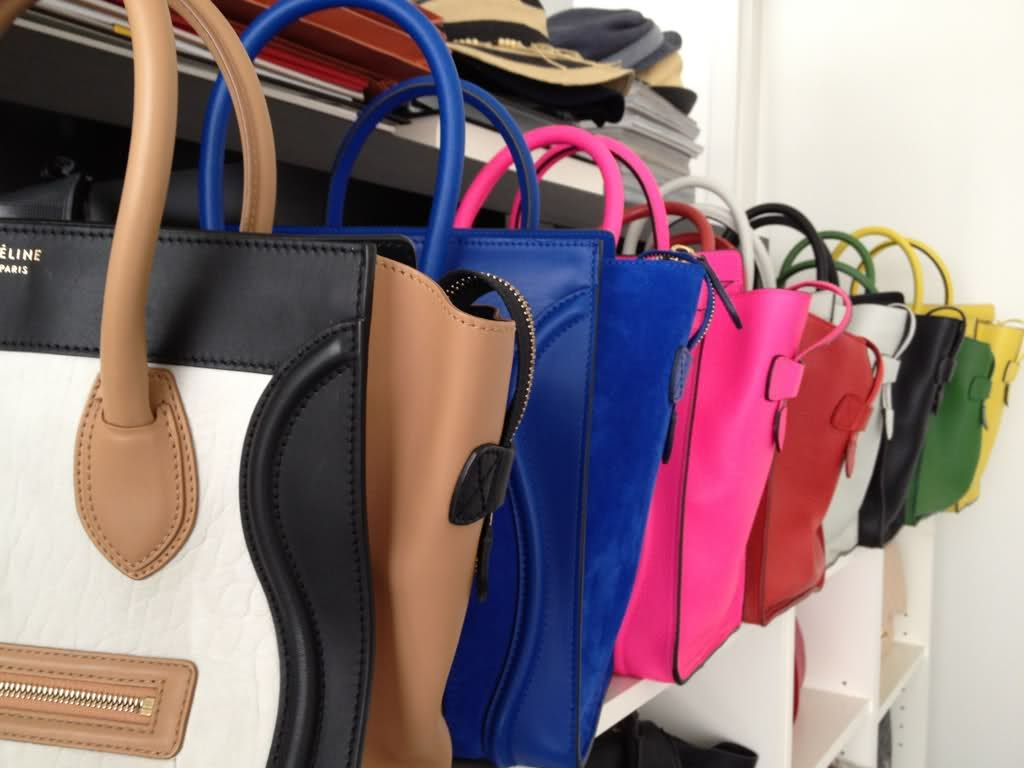 e6f98fe1ef75 My Colorful Celine Collection - PurseForum