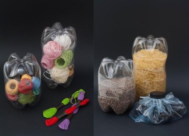 Ideas para reutilizar las botellas de pl stico ideas - Botellas de plastico manualidades ...