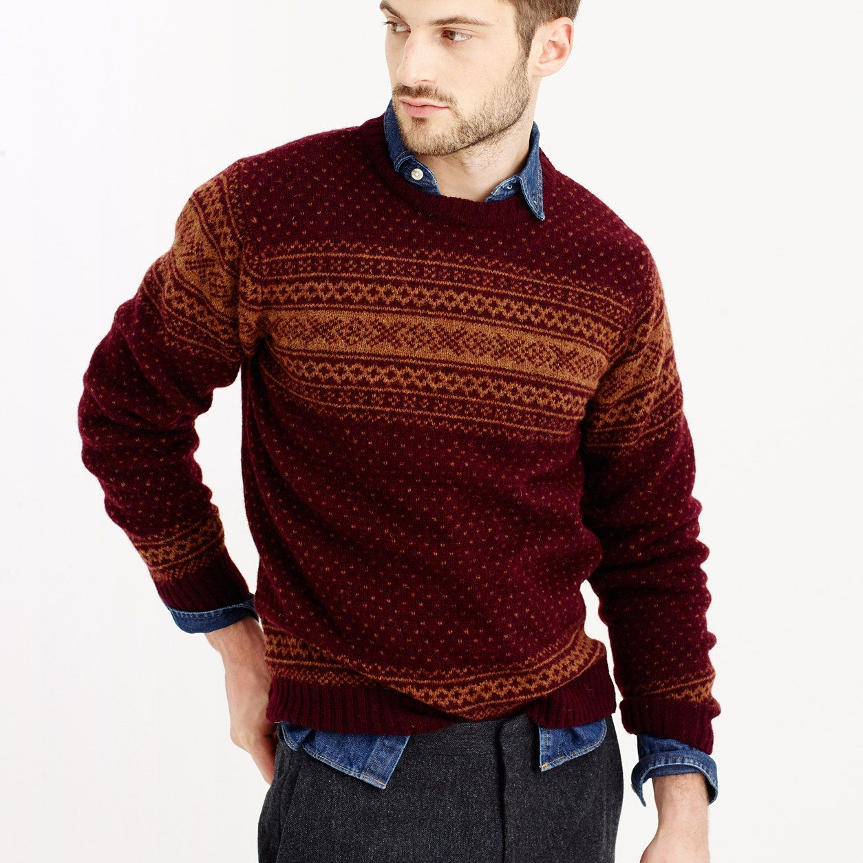 Harley of Scotland™ Nor easterly sweater   J.Crew In Good Company ... ea0063d08