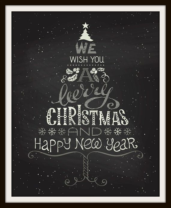 Image result for christmas chalkboard designs
