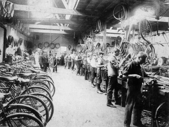Zealandia Cycle Works factory
