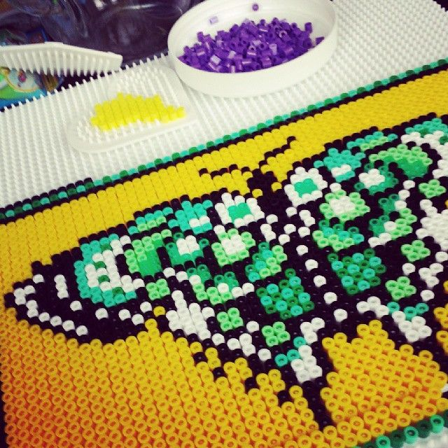 Butterfly hama beads by sandralouiseolsen | 8 Bits Brasil ...