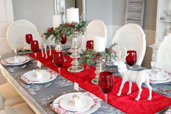christmas centerpieces 20 diy christmas centerpieces for your home rh pinterest com