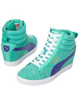 09250b886c0d Classic Wedge High Tops by Puma North America - The hidden wedge sneaker  that gives you