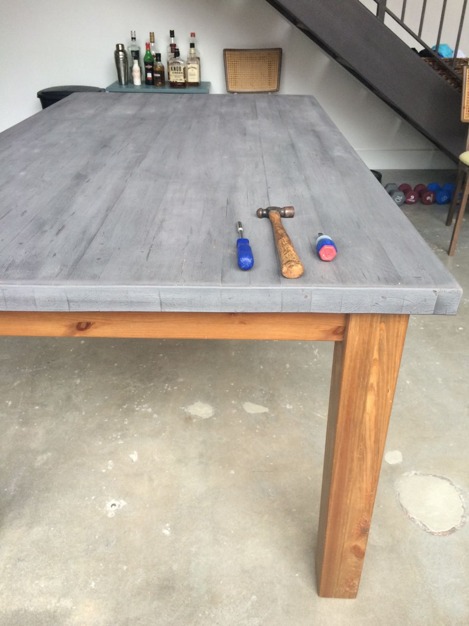 How To Make An Ikea Table Look Old Distressing Techniques A