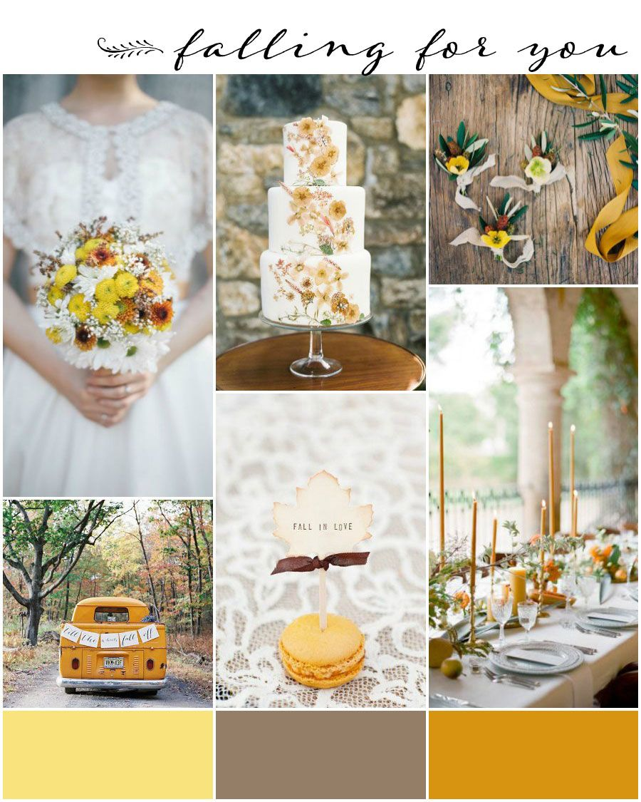 Burnt Orange And Mustard Yellow Wedding Theme | Pinterest | Mustard ...