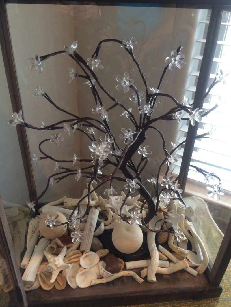 How to make a lightup terrarium terraria lights and flower diy