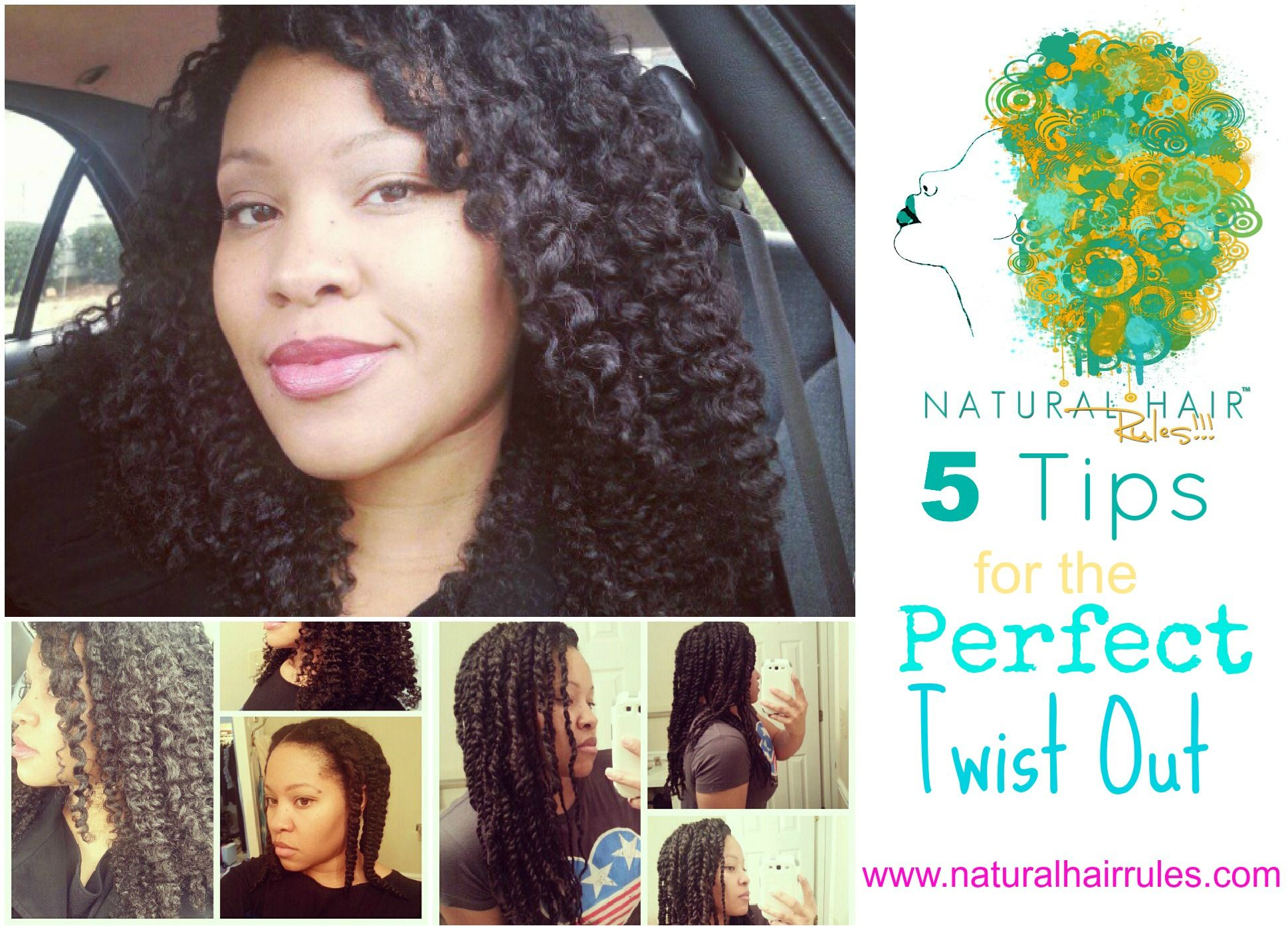 5 Tips for the Perfect Twist Out
