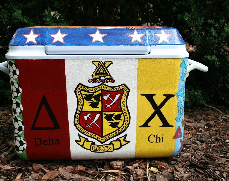 Delta Chi Fraternity Dx Crest Cooler Formal Cooler Ideas