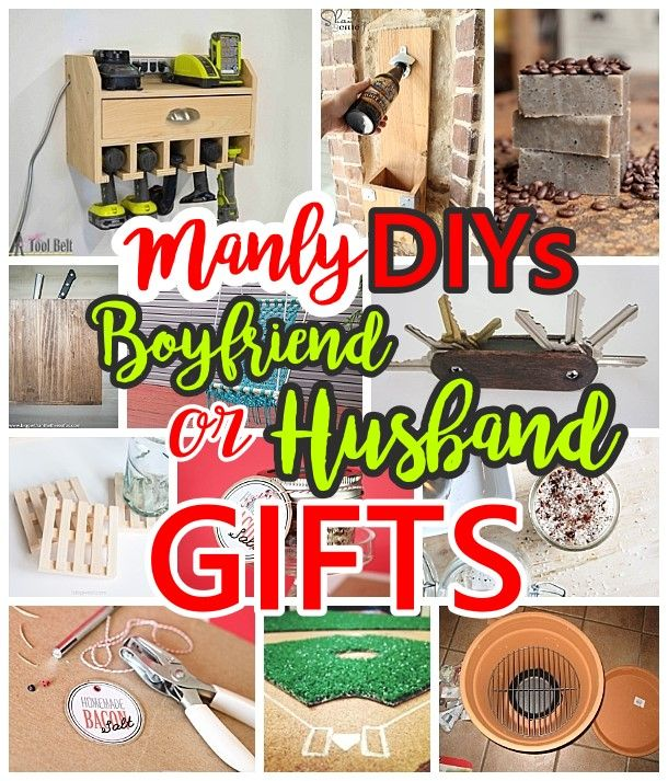 Manly do it yourself boyfriend and husband gift ideas masculine looking for boyfriend or husband diy gift ideas that are a little more masculine they solutioingenieria Choice Image
