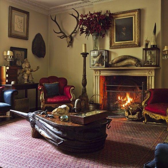The English Eccentric Ros Byam Shaw Best Interiors Books Town Country Magazine Uk