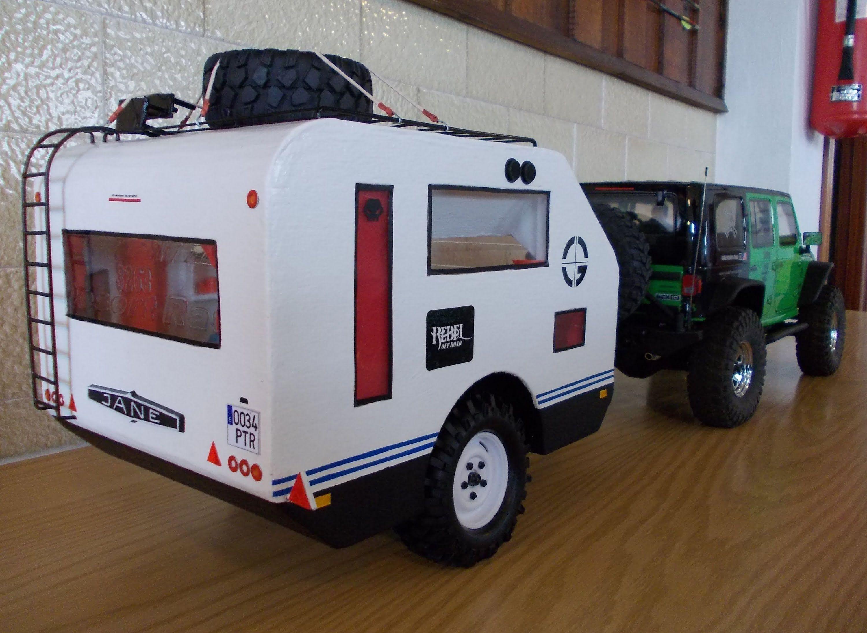 caravana axial scx10 jeep wrangler rubicon caravan. Black Bedroom Furniture Sets. Home Design Ideas
