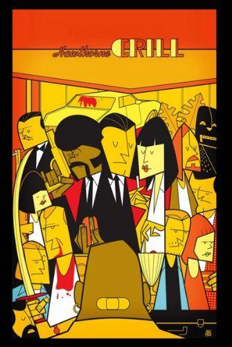 Pulp Fiction by Ale Giorgini