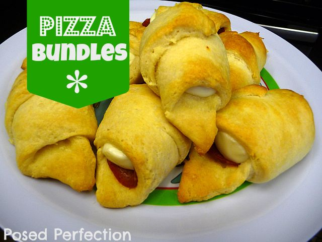 perhaps I will make this for Super Bowl Sunday...pepperoni, cheese and crescent rolls...you just can't go wrong!!