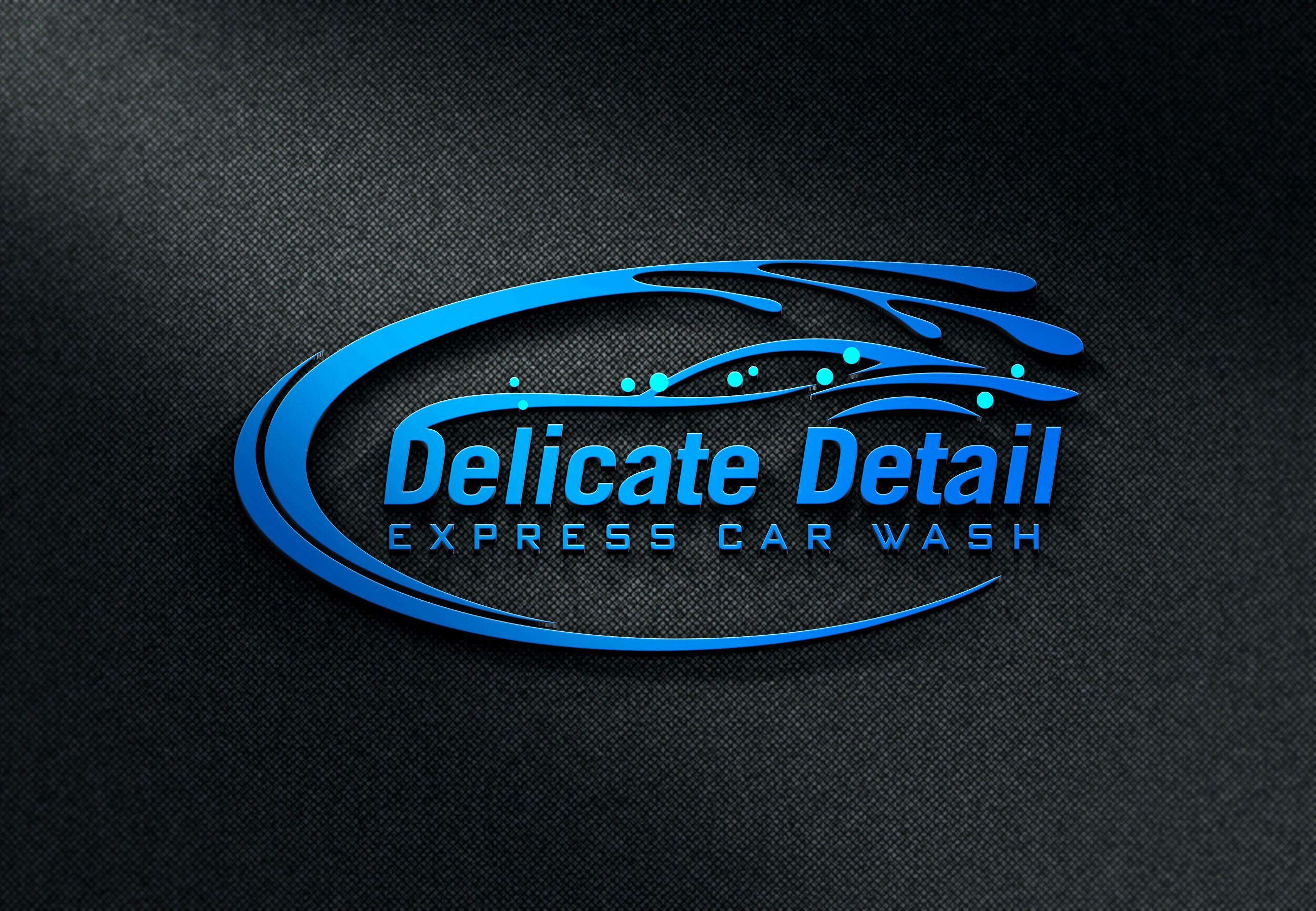 Design logo for business express car wash Detailing Car