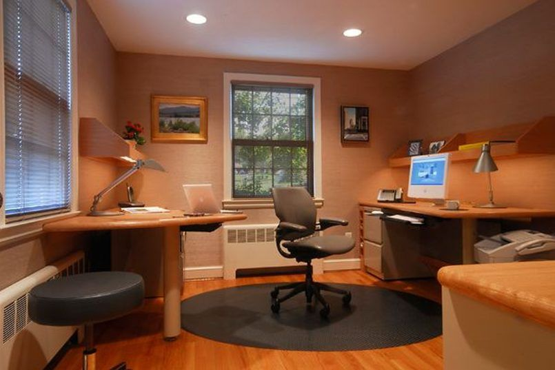 home office elegant small. Beautiful Elegant Office Elegant Decoration Of Small Designs With Study Table Also  Silver Arch Lamps Hanging Wooden Racks Plus Lavish Chairs On Circle Carpet  Intended Home M
