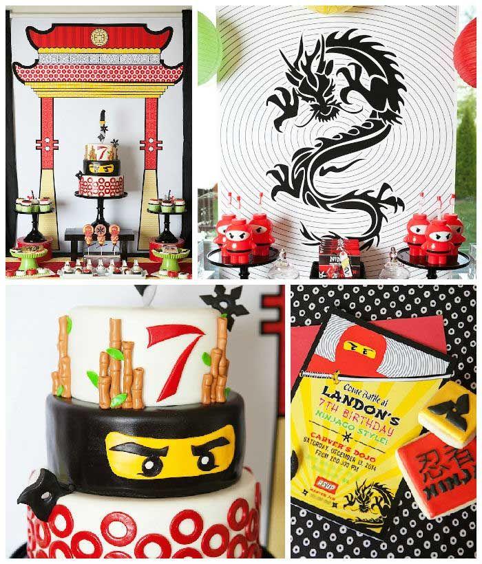 Ninja Lego Ninjago Birthday Party Via Kara's Party Ideas