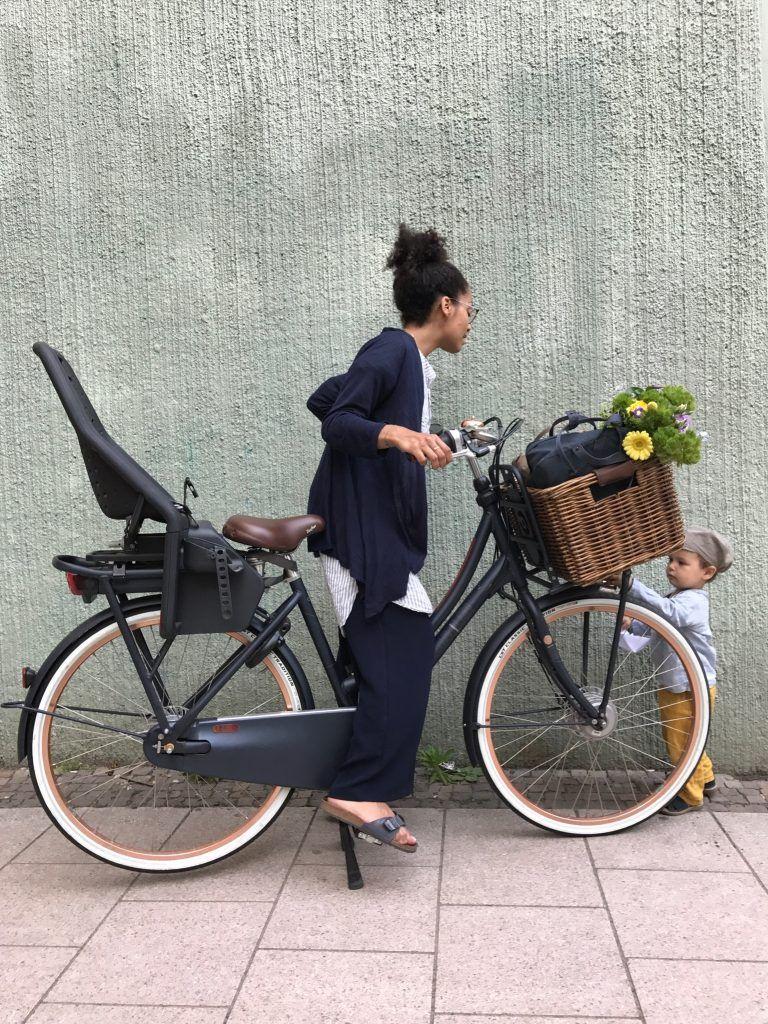 Fahrrad fahren für ein nachhaltiges Leben