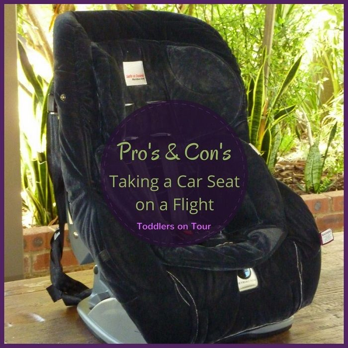 The Pros and Cons of Flying with a Car Seat | Car seats, Vacation ...