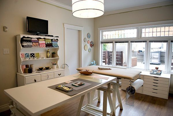Beautiful Craft Room Interior Design Ideas That Make Work Easier Craft Room Design Sewing Room Design Craft Room Office