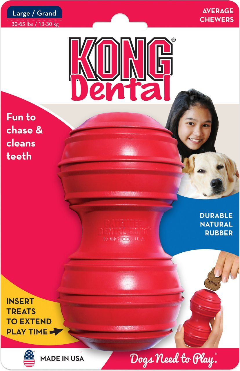 Kong dental dog toy large dog toys kong