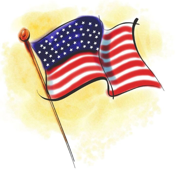 Download High Quality Free Memorial Day Clip Art Images Jlou Flag Day Facts American Flag Usa Flag