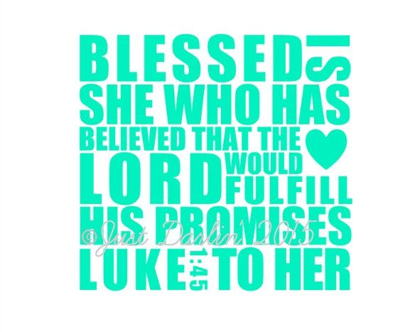 Bible Verse Vinyl Decal Luke Decal Religious Decal - Bible verse custom vinyl decals for car