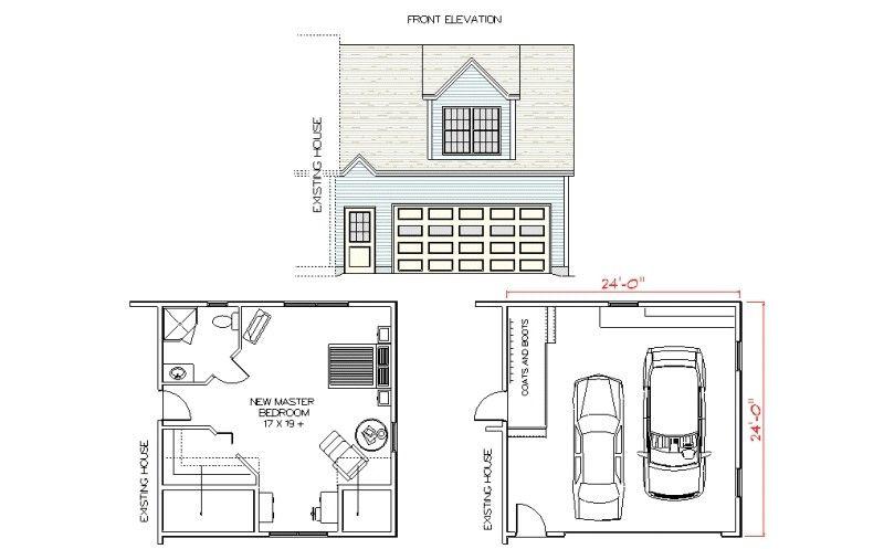 Attached Garage Addition Garage Floor Plans Garage Addition Floor Plans