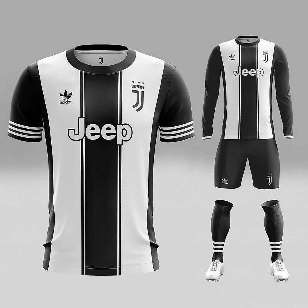 9b25a040ab3 1 3 Kit concepts from  xztals. First up what do you think of this  juventus  and  adidasoriginals combo  It s a big yes from us!