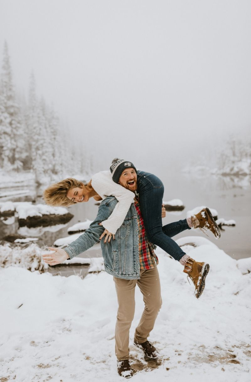 Snowy Engagement Session im Rocky Mountain Nationalpark, CO   – ENGAGEMENT INSPIRATION