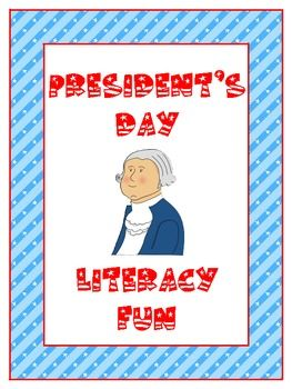 President's Day Literacy Fun Packet