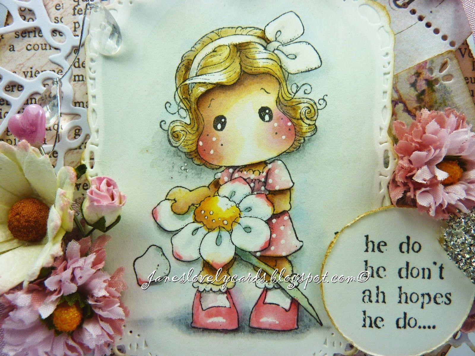 Jane's Lovely Cards : February 2015
