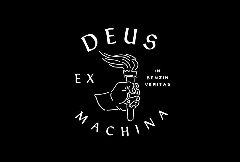 Awesome Designs By L A N D For Dues Ex Machina Surf Boards Graphic Design Logo Lettering Typography