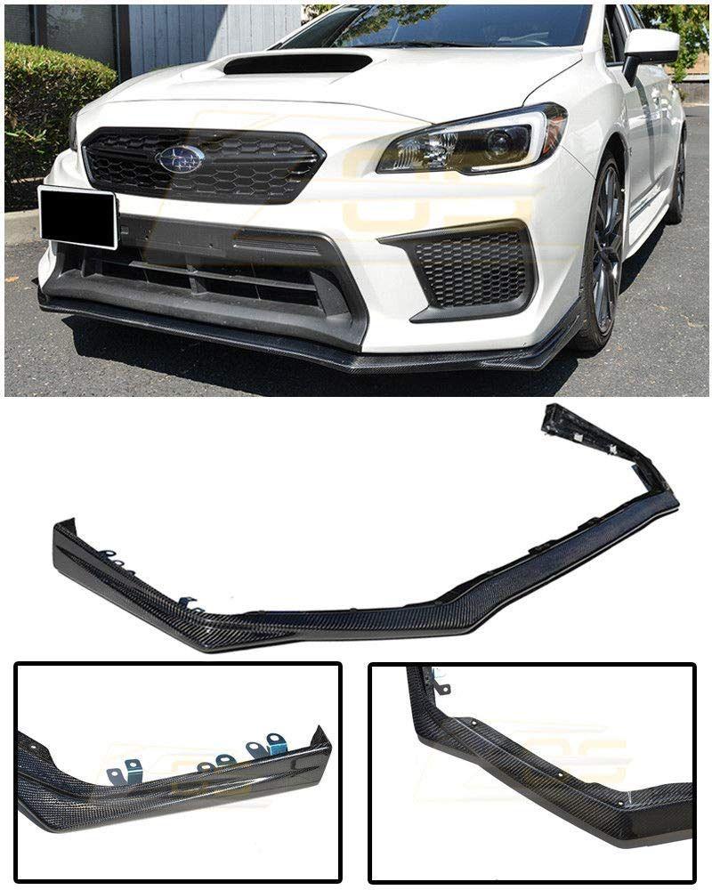 Amazon Com For 2018 Present Subaru Impreza Wrx Sti Eos V Limited Style Carbon Fiber Front Bumper Lower Lip Splitter Under S Subaru Impreza Impreza Wrx Sti