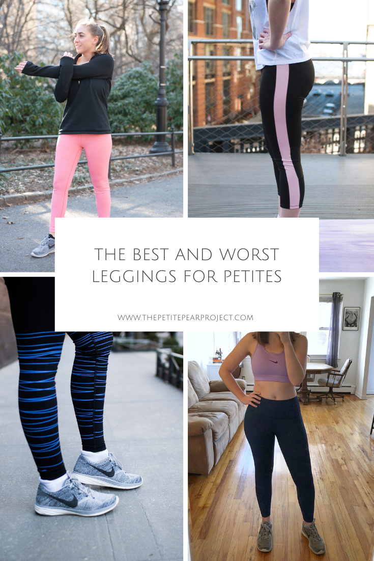 THE BEST AND WORST WORKOUT LEGGINGS FOR PETITES