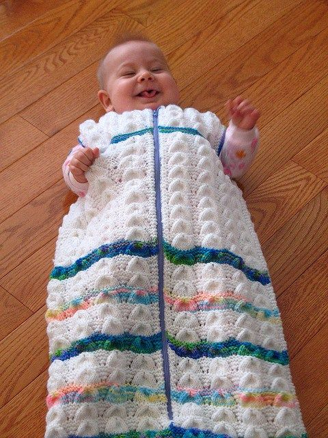 Baby Cocoon Snuggly Sleep Sack Wrap Knitting Patterns Crafty