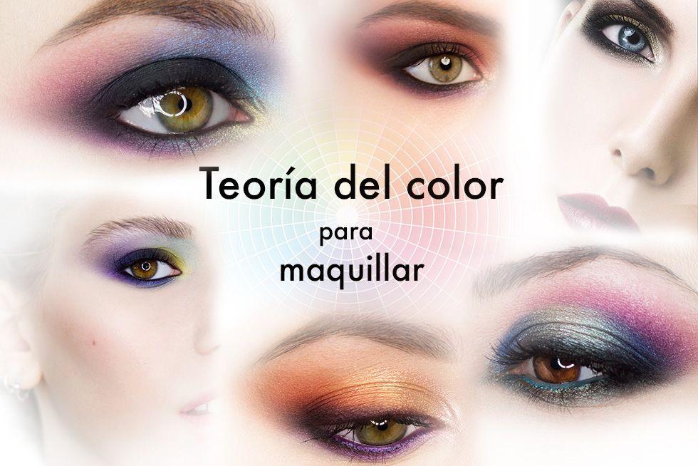 Conceptos básicos de la Teoría del color para maquillar y cómo puedes aprender a combinar colores y difuminar creando contrastes o armonía para sacarte el máximo partido.