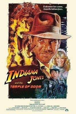 INDIANA JONES POSTER The Temple of Doom 1 RARE HOT NEW